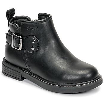 kengät Tytöt Bootsit Geox J ECLAIR GIRL Musta
