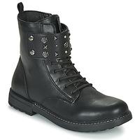kengät Tytöt Bootsit Geox J ECLAIR GIRL Black