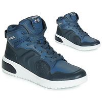 kengät Pojat Korkeavartiset tennarit Geox J XLED BOY Blue