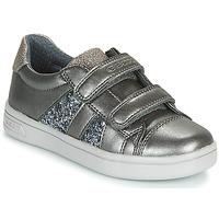 kengät Tytöt Matalavartiset tennarit Geox J DJROCK GIRL Grey