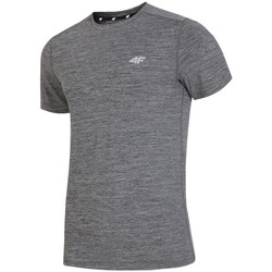 vaatteet Miehet Lyhythihainen t-paita 4F H4L19 TSMF002 Grafiitin väriset