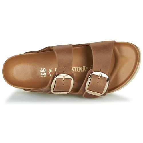 Birkenstock Arizona Big Buckle Ruskea - Ilmainen Toimitus- Kengät Sandaalit Naiset 144