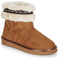 kengät Naiset Bootsit Les Petites Bombes KITY Camel