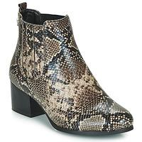 kengät Naiset Nilkkurit Les Petites Bombes CHIRAZ Brown