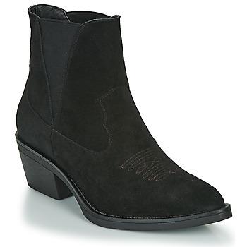 kengät Naiset Nilkkurit Les Petites Bombes IRINA Black
