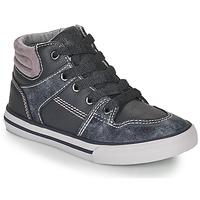 kengät Pojat Korkeavartiset tennarit Chicco CAMILLO Blue / Grey