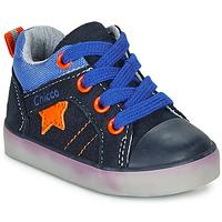 kengät Pojat Korkeavartiset tennarit Chicco GRADO Blue