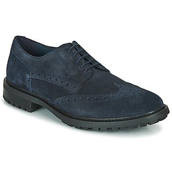 kengät Miehet Derby-kengät Geox U BRENSON D Sininen