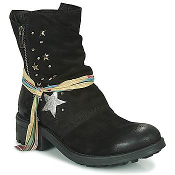 kengät Naiset Bootsit Felmini AZAFRINO Black