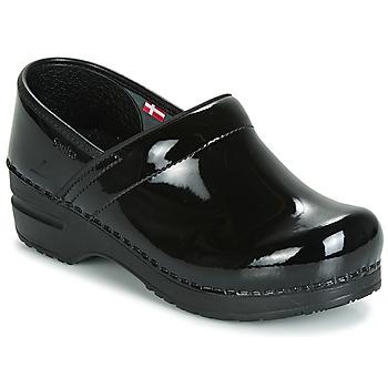 kengät Naiset Puukengät Sanita PROF Musta
