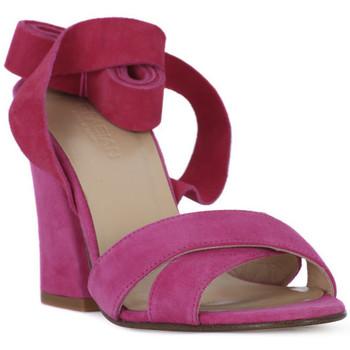 kengät Naiset Sandaalit ja avokkaat Le Fabian FUXIA CAMOSCIO Rosa