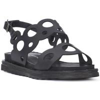 kengät Naiset Sandaalit ja avokkaat Fluchos SONO ITALIANA CRAST NERO Nero