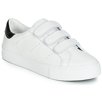 kengät Naiset Matalavartiset tennarit No Name ARCADE STRAPS White