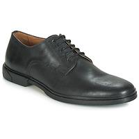 kengät Miehet Derby-kengät Schmoove BANK-DERBY Black