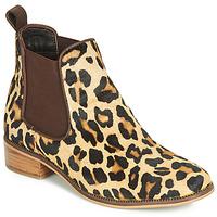 kengät Naiset Bootsit Ravel GISBORNE Leopardi
