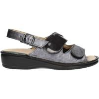 kengät Naiset Sandaalit ja avokkaat Clia Walk Estraibile410 Anthracite
