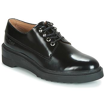 kengät Naiset Derby-kengät Kickers ALDARIC Black