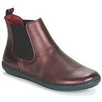 kengät Naiset Bootsit Kickers FANTIN Violetti