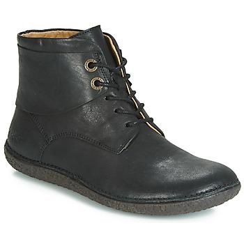 kengät Naiset Bootsit Kickers HOBBYTWO Black