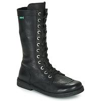 kengät Naiset Saappaat Kickers MEETKIKNEW Black