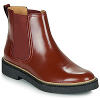 kengät Naiset Bootsit Kickers OXFORDCHIC Red / Fonce