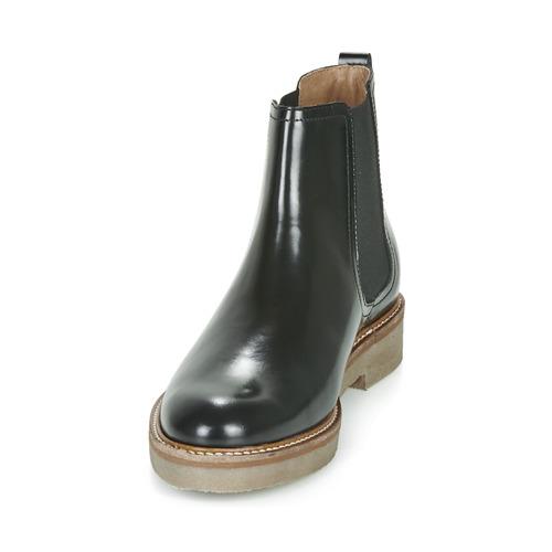 Kickers Oxfordchic Black - Ilmainen Toimitus- Kengät Bootsit Naiset 117