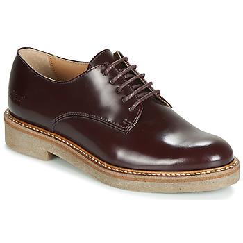kengät Naiset Derby-kengät Kickers OXFORK Bordeaux