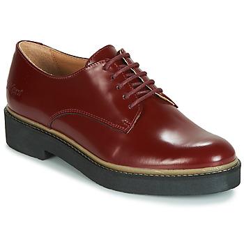 kengät Naiset Derby-kengät Kickers OXFORK Red
