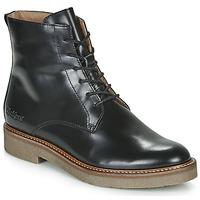 kengät Naiset Bootsit Kickers OXIGENO Black