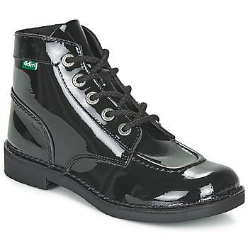 kengät Naiset Bootsit Kickers KICK COL Black