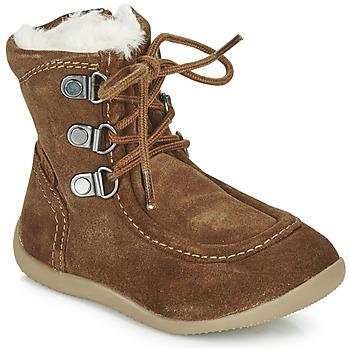 kengät Lapset Saappaat Kickers BAMARA Camel