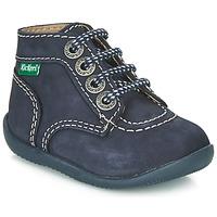 kengät Lapset Bootsit Kickers BONBON Laivastonsininen
