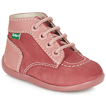 kengät Tytöt Bootsit Kickers BONBON Pink