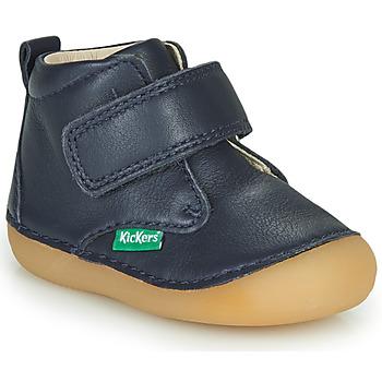 kengät Lapset Bootsit Kickers SABIO Laivastonsininen