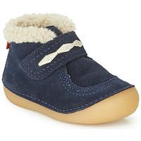 kengät Lapset Bootsit Kickers SOETNIC Laivastonsininen