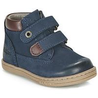 kengät Pojat Bootsit Kickers TACKEASY Laivastonsininen
