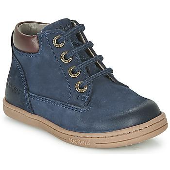 kengät Pojat Bootsit Kickers TACKLAND Laivastonsininen