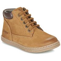 kengät Pojat Bootsit Kickers TACKLAND Camel