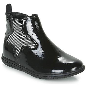 kengät Tytöt Bootsit Kickers VERMILLON Musta