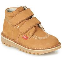 kengät Pojat Bootsit Kickers NEOVELCRO Camel