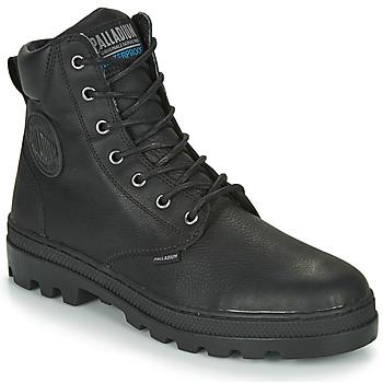 kengät Miehet Bootsit Palladium PALLABOSSE SC WP Black