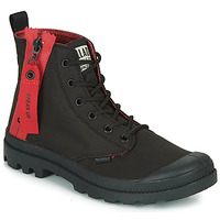 kengät Bootsit Palladium PAMPA UNZIPPED Black