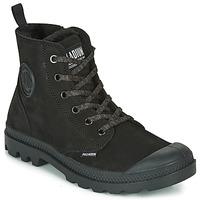 kengät Naiset Bootsit Palladium PAMPA HI ZIP WL Black