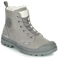 kengät Naiset Bootsit Palladium PAMPA HI ZIP WL Grey