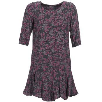 vaatteet Naiset Lyhyt mekko See U Soon BOETICO Black / Violet