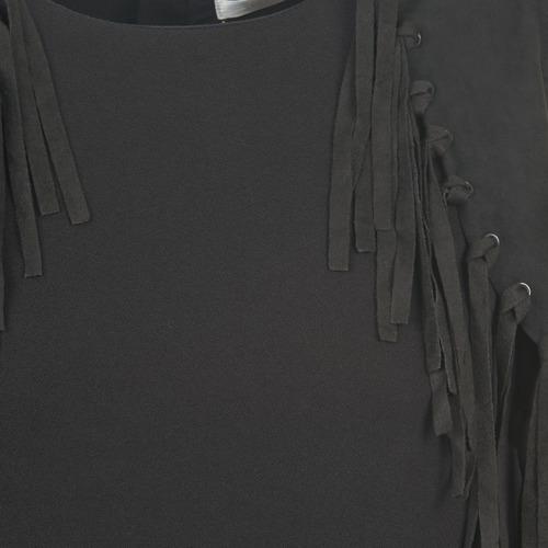 See U Soon Loubira Black - Ilmainen Toimitus- Vaatteet Lyhyt Mekko Naiset 46