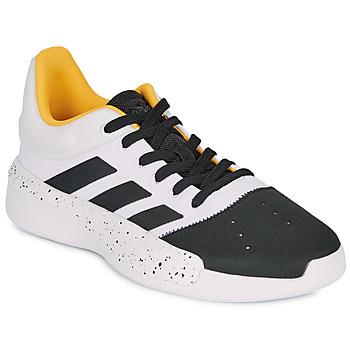 kengät Miehet Koripallokengät adidas Performance PRO ADVERSARY LOW 2 White / Black