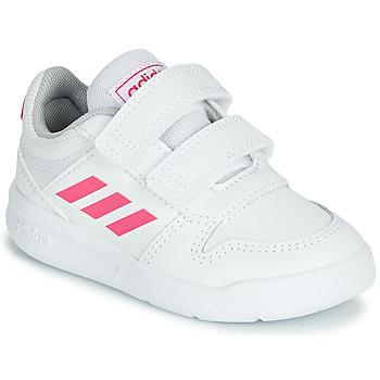 kengät Tytöt Matalavartiset tennarit adidas Performance VECTOR I White / Pink