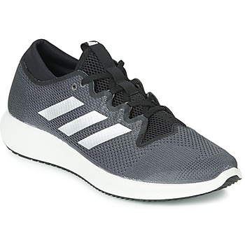 kengät Miehet Matalavartiset tennarit adidas Performance EDGE FLEX M Black / Grey