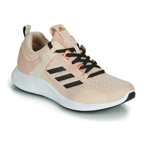 kengät Naiset Matalavartiset tennarit adidas Performance EDGEBOUNCE 1.5 W Beige / Black